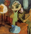 The Millinery Shop 1885 The Art Institute of Chicago USA