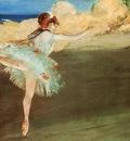 The Star Dancer on Pointe circa 1877 1878 Norton Simon Museum USA
