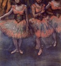 Three Dancers before Exercise 1880 PC