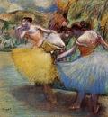 Three Dancers circa 1897 1901 Ordrupgaard Collection Denmark
