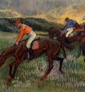 Three Jockeys circa 1900 Metropolitan Museum of Art USA