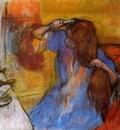 Woman Brushing Her Hair 1889 PC