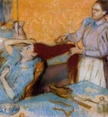 Woman Having Her Hair Combed 1892 1895 PC