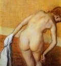 Woman Having a Bath circa 1886 1888 Metropolitan Museum of Art USA