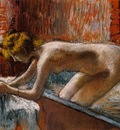 Woman Leaving Her Bath 1886 1888 PC