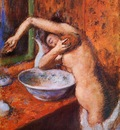 Woman Washing Herself 1892 PC