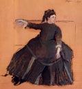 Woman on a Sofa 1875 Metropolitan Museum of Art USA