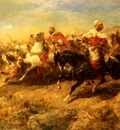 Schreyer Adolf Arabian Horsemen