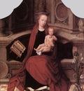 ISENBRANT Adriaen Virgin and Child Enthroned