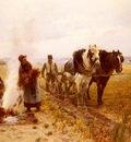 Moreau Adrien Plowing The Fields