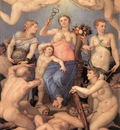 BRONZINO Agnolo Allegory Of Happiness