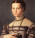 Bronzino Portrait of a Young Girl