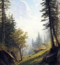 Bierstadt Albert Among the Bernese Alps