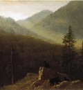 Bierstadt Albert Bears in the Wilderness