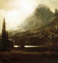 Bierstadt Albert By a Mountain Lake