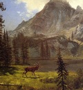 Bierstadt Albert Call of the Wild
