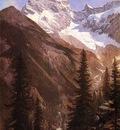Bierstadt Albert Canadian Rockies Asulkan Glacier