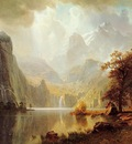 Bierstadt Albert In the Mountains