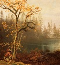 Bierstadt Albert Indian Scout