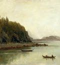 Bierstadt Albert Indians Fishing