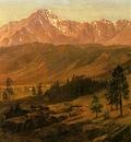 Bierstadt Albert Pikes Peak