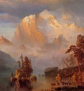 Bierstadt Albert Rocky Mountains