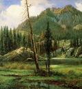Bierstadt Albert Sierra Nevada Mountains