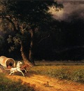Bierstadt Albert The Ambush