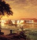 Bierstadt Albert The Falls of St  Anthony