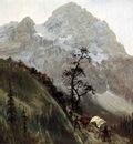 Bierstadt Albert Western Trail the Rockies
