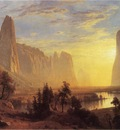 Bierstadt Albert Yosemite Valley Yellowstone Park