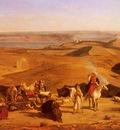 Pasini Alberto The Desert Encampment