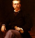 Cabanel Alexandre Portrait De John William Mackay