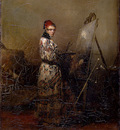 Descamps Self Portrait early 1830s