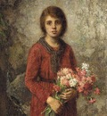 Harlamoff Alexej Artist s daughter