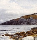 Bricher Alfred Thompson Rocky Coastline