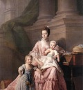 RAMSAY Allan Queen Charlotte With Her Two Children