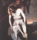 CANO Alonso The Dead Christ Supported By An Angel