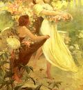 Mucha Alphonse Spirit Of Spring