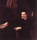 SACCHI Andrea Portrait Of Monsignor Clemente Merlini