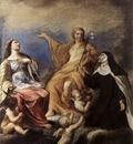 SACCHI Andrea The Three Magdalenes
