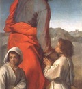 St James with Two Children WGA