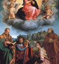 Virgin with Four Saints WGA