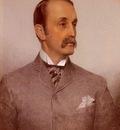 Sandys Anthony Frederick Augustus Portrait Of Josiah Caldwell