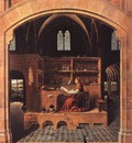 ANTONELLO da Messina St Jerome In His Study