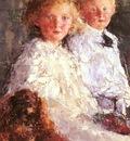Mancini Antonio Portrait Of Elizabeth And Charles Williamso