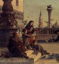 Paoletti Antonio Feeding The Pigeons