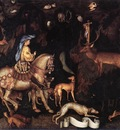 PISANELLO Vision Of St Eustace