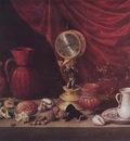 PEREDA Antonio de Still life With A Pendulum