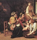 GENTILESCHI Artemisia Birth Of St John The Baptist